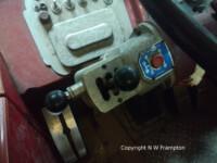 Electro-pneumatic gear selector