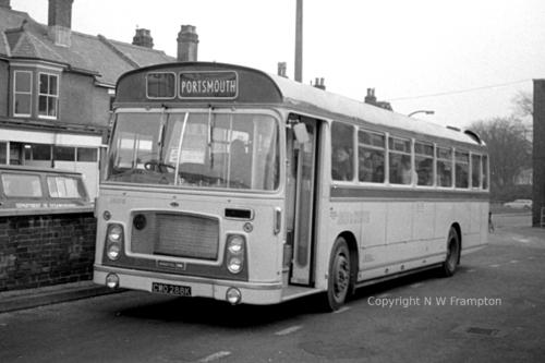CWO288K - RD572 - Southampton, Bedford Place coach station
