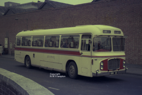 GWO5D - RC566 - Southampton, Bedford Place coach station